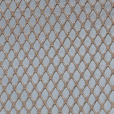 Жаккард Шалімар, 3В сіро-блакитний