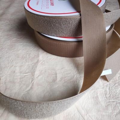 Липучка текстильна, ширина 50мм, bezh